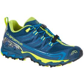 La Sportiva Falkon Low Schoenen Kinderen, blauw/geel